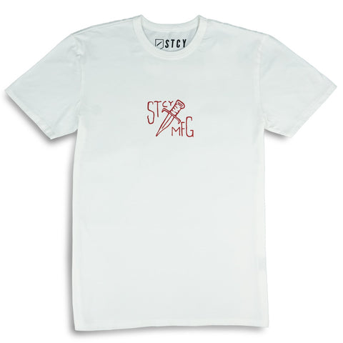 DAGGER TEE - OFF WHITE