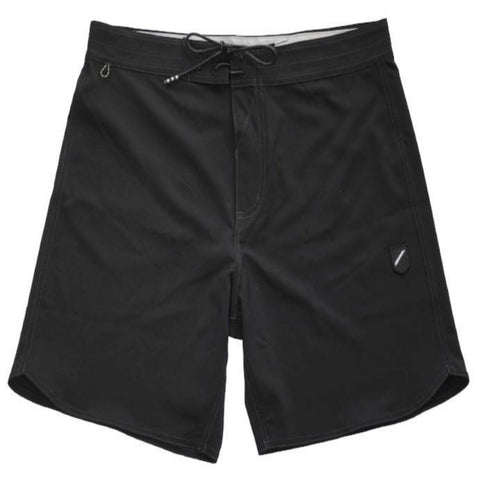 "FOUNDATION SOLID 19"" BOARDSHORT - BLACK"