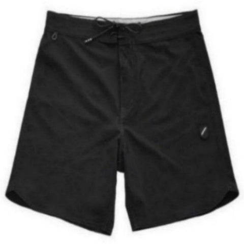 "FOUNDATION SOLID 17"" BOARDSHORT - BLACK"