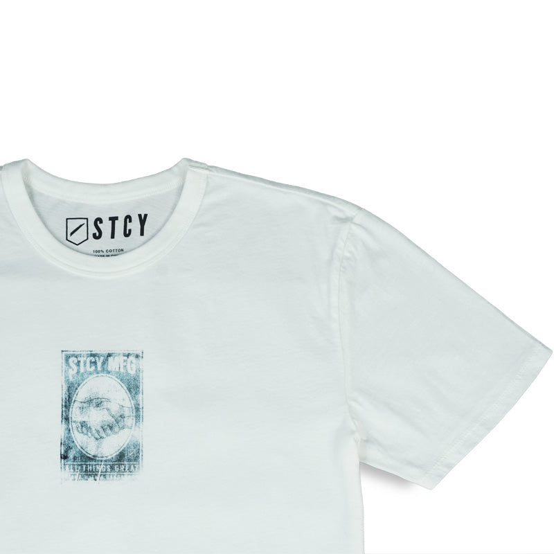 HANDSHAKE TEE - OFF WHITE