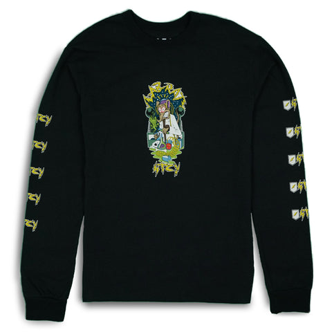 LAB RAT L/S TEE - BLACK