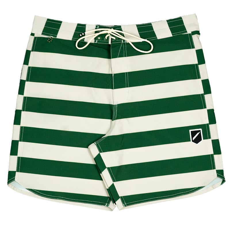 BOSTON STRIPE BOARDSHORT 17""