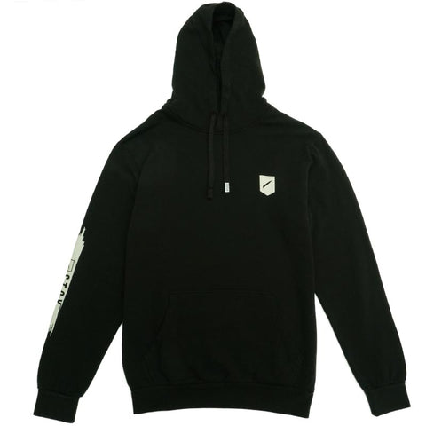 SLASH 2 HOODED FLEECE - BLACK