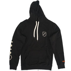 TEAM COVER UP HOODED FLEECE - BLACK