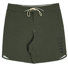 "FOUNDATION TEAM BOARD SHORT 19"" - ARMY"