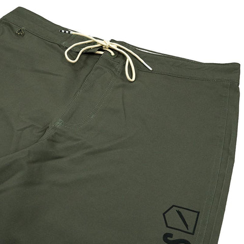 "FOUNDATION TEAM BOARD SHORT 17"" - ARMY"