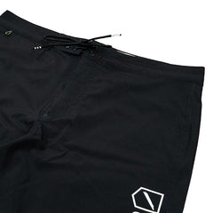 "FOUNDATION TEAM BOARD SHORT 17"" - BLACK"