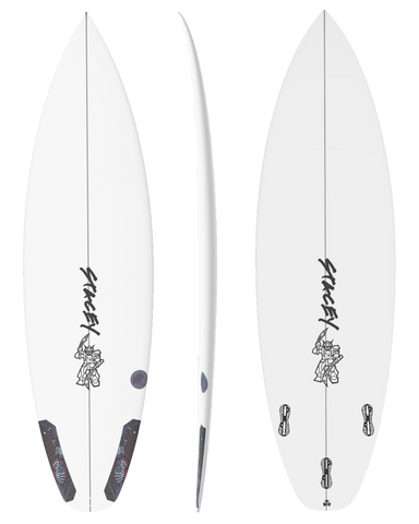 Stacey Surfboards - Black Bear