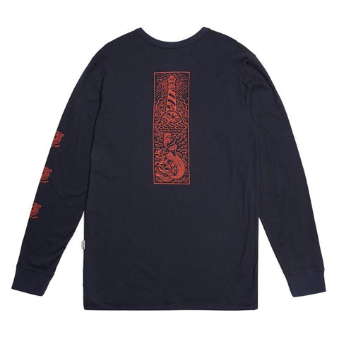 Stacey Pedro Sea Nymph LS Tee - Navy