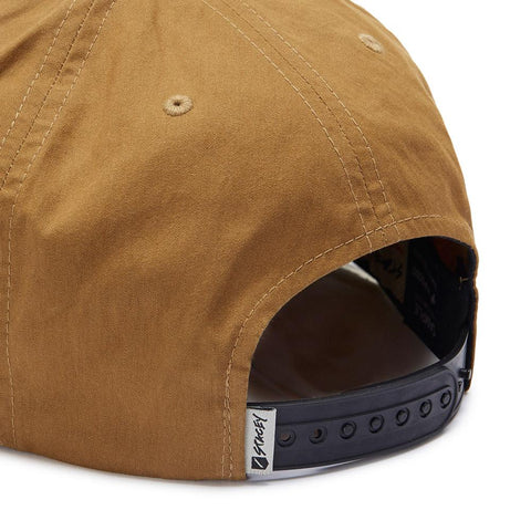 Stacey Black Tie Snapback - Whiskey