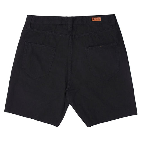 Stacey Freeway 5 Pocket Short - Vintage Black