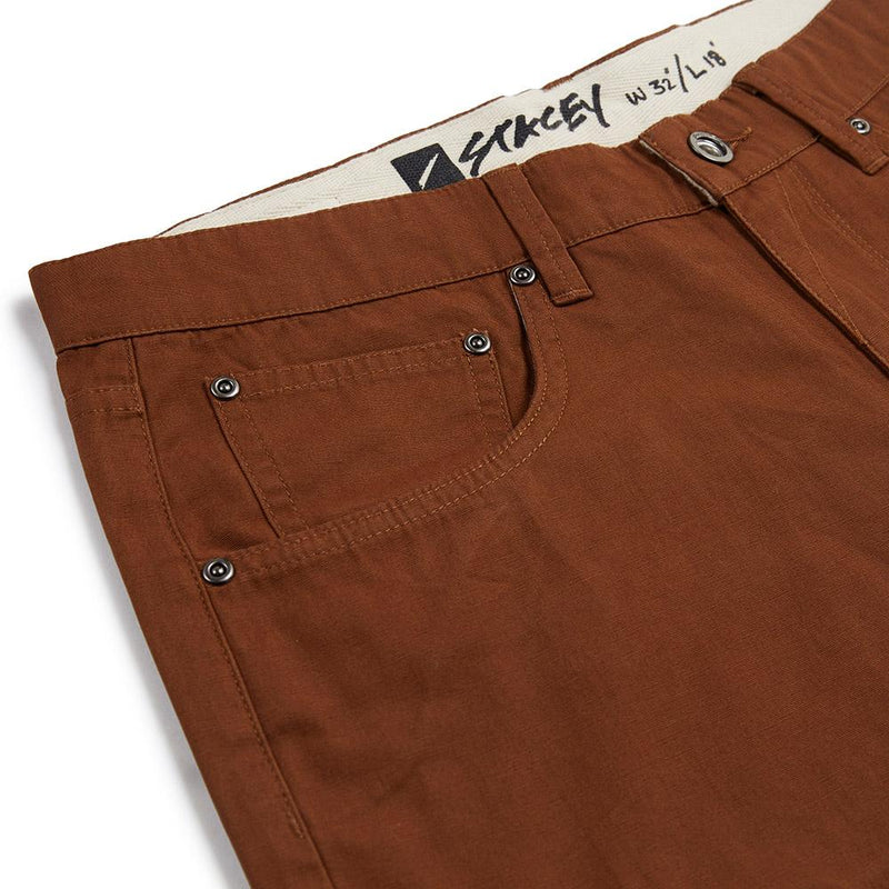 Stacey Freeway 5 Pocket Short - Whiskey