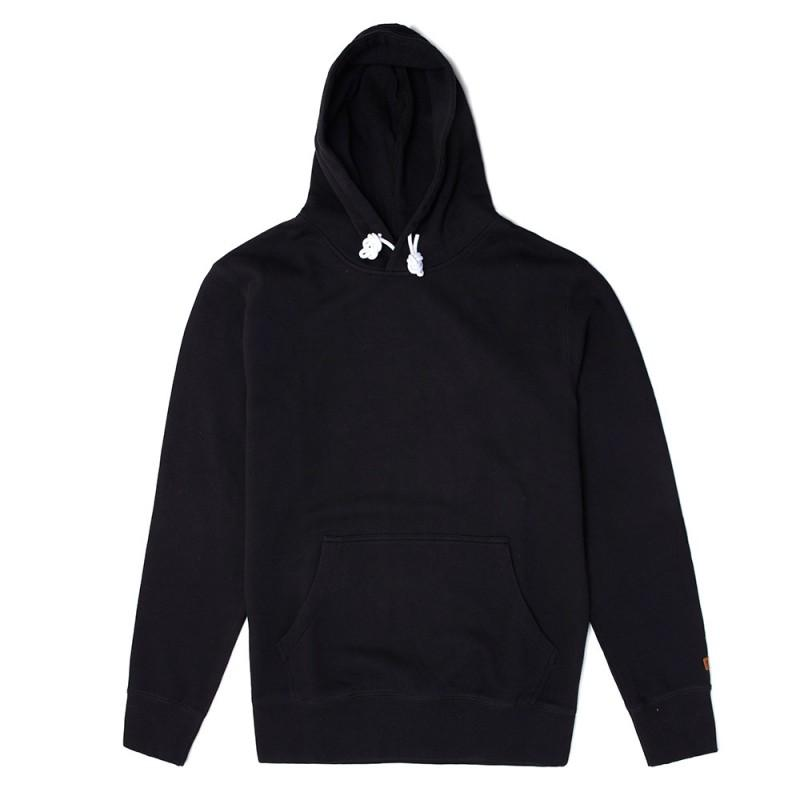 Stacey Cover Up Hooded Fleece - Vintage Black