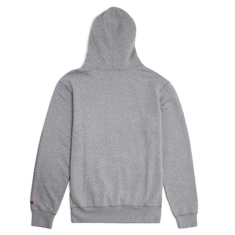 Stacey Cover Up Hooded Fleece - Washed Grey Heather