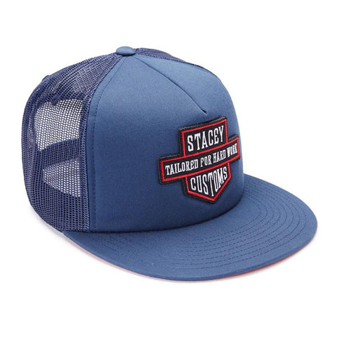 Stacey Customs Trucker - Navy