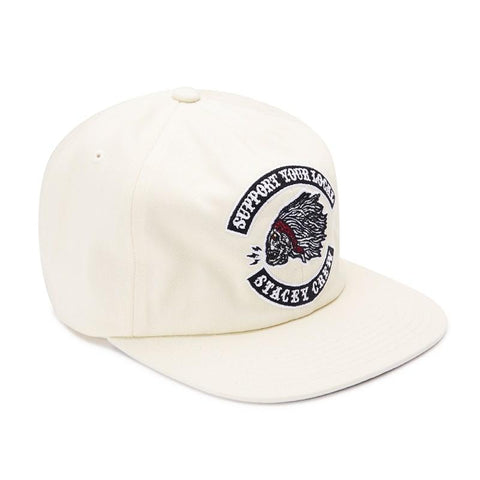 Stacey Local Bandito Snapback - Off White