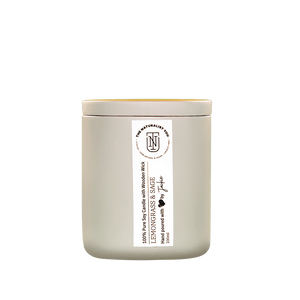 Lemongrass and Sage, 100% Pure Soy Candle + Wooden Wick The Naturalist You