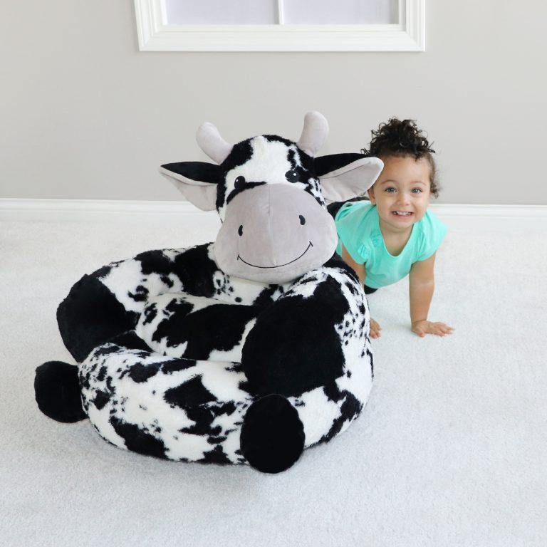 Plush Cow Chair Featured in Toys & Family Entertainment Magazine - Trend Lab