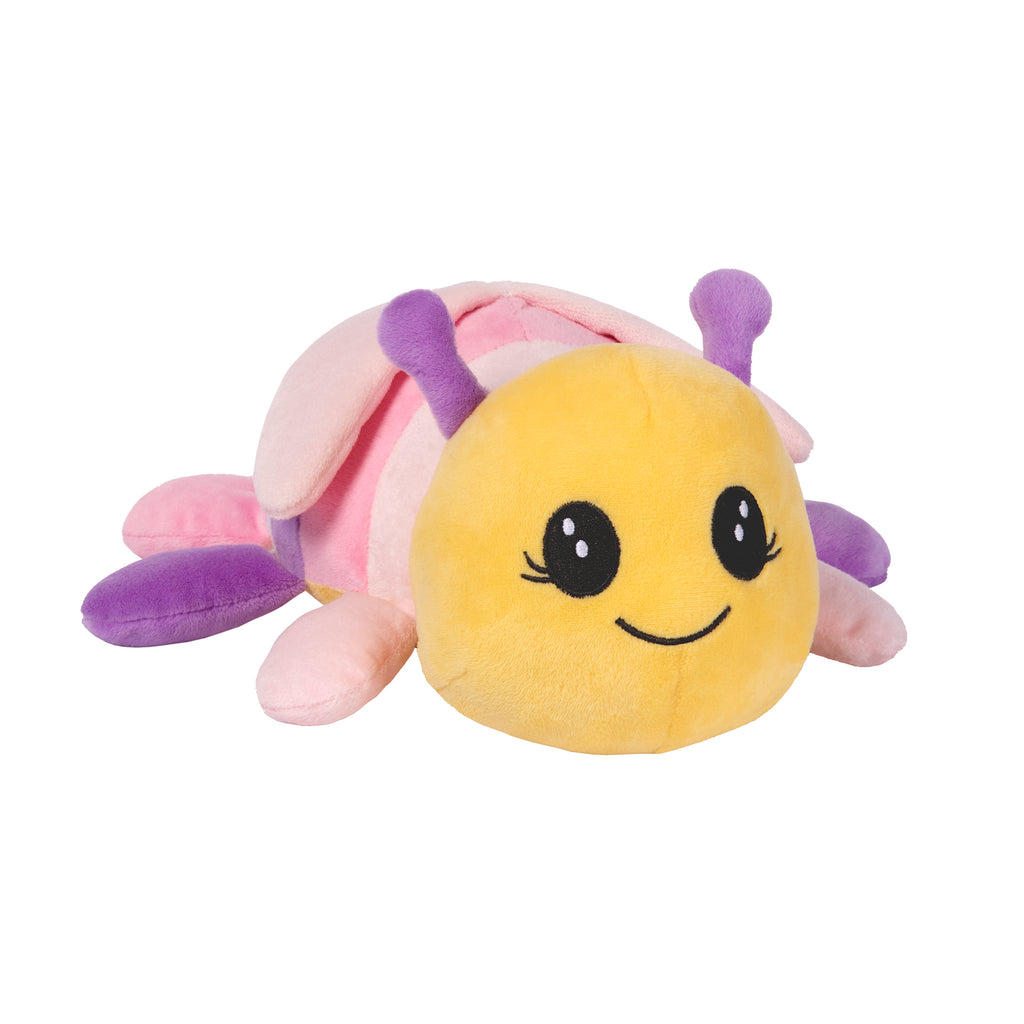 Rainbow Showers Ladybug Plush Angled