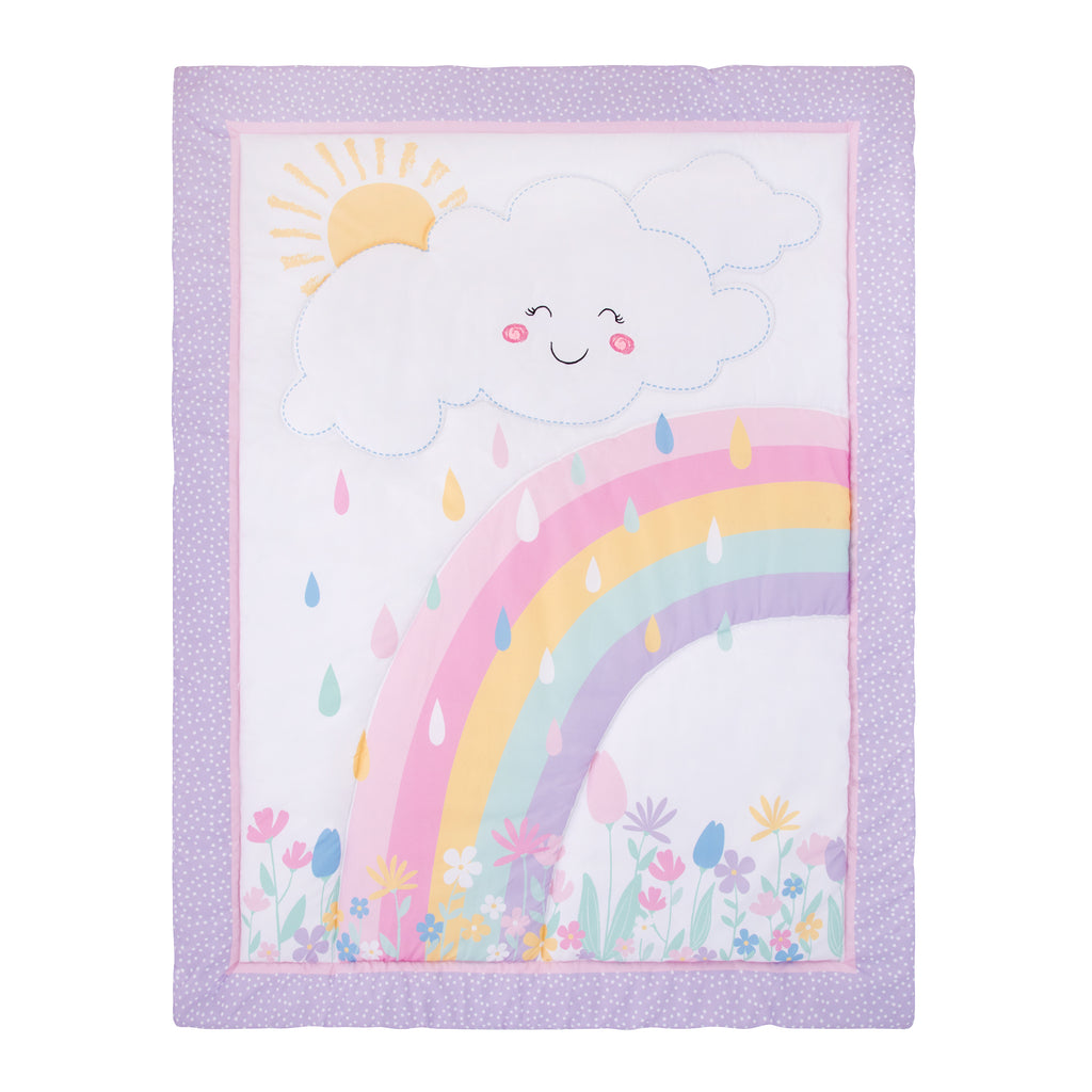 Rainbow Showers Quilt