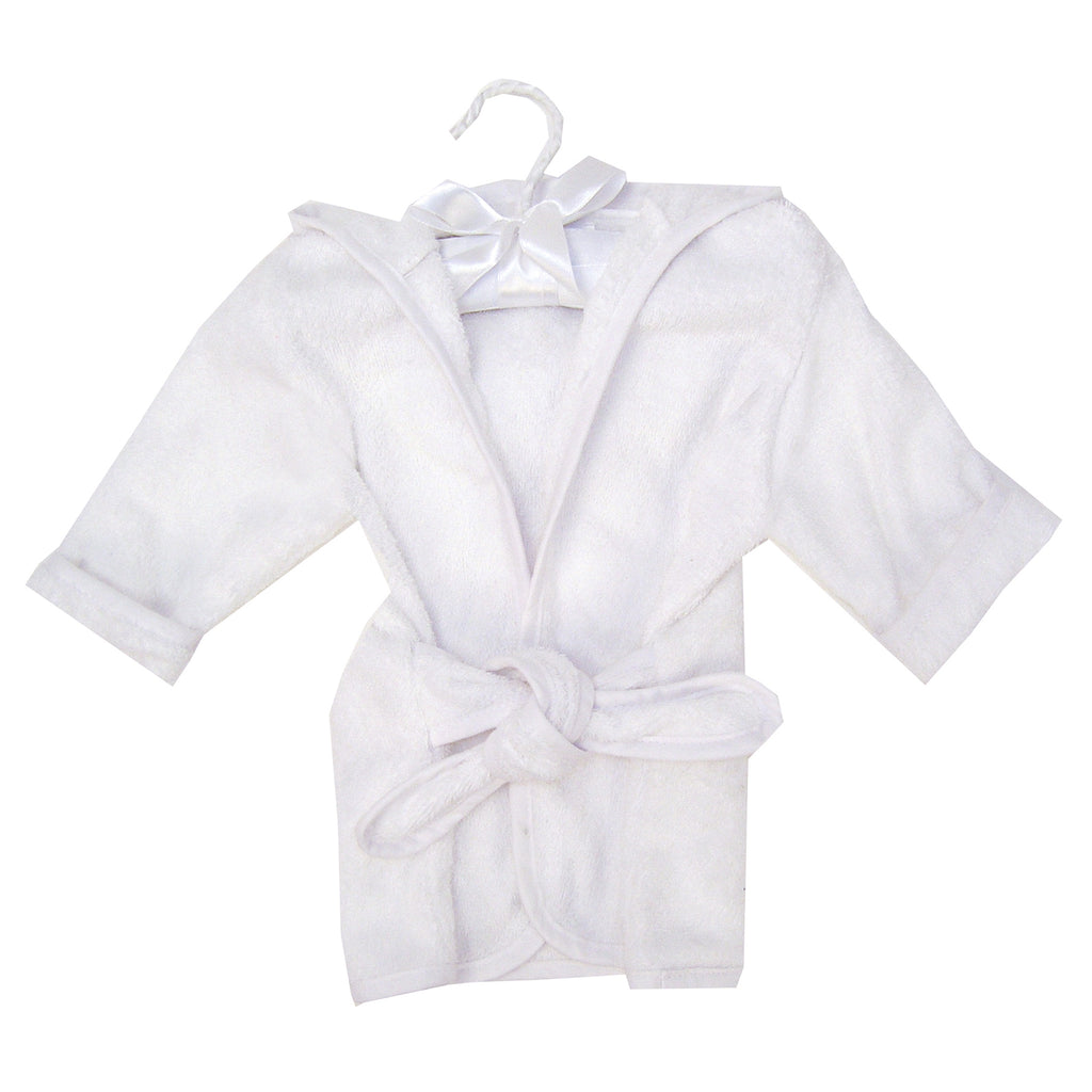 Cotton Terry Infant Robe-White Trend Lab, LLC