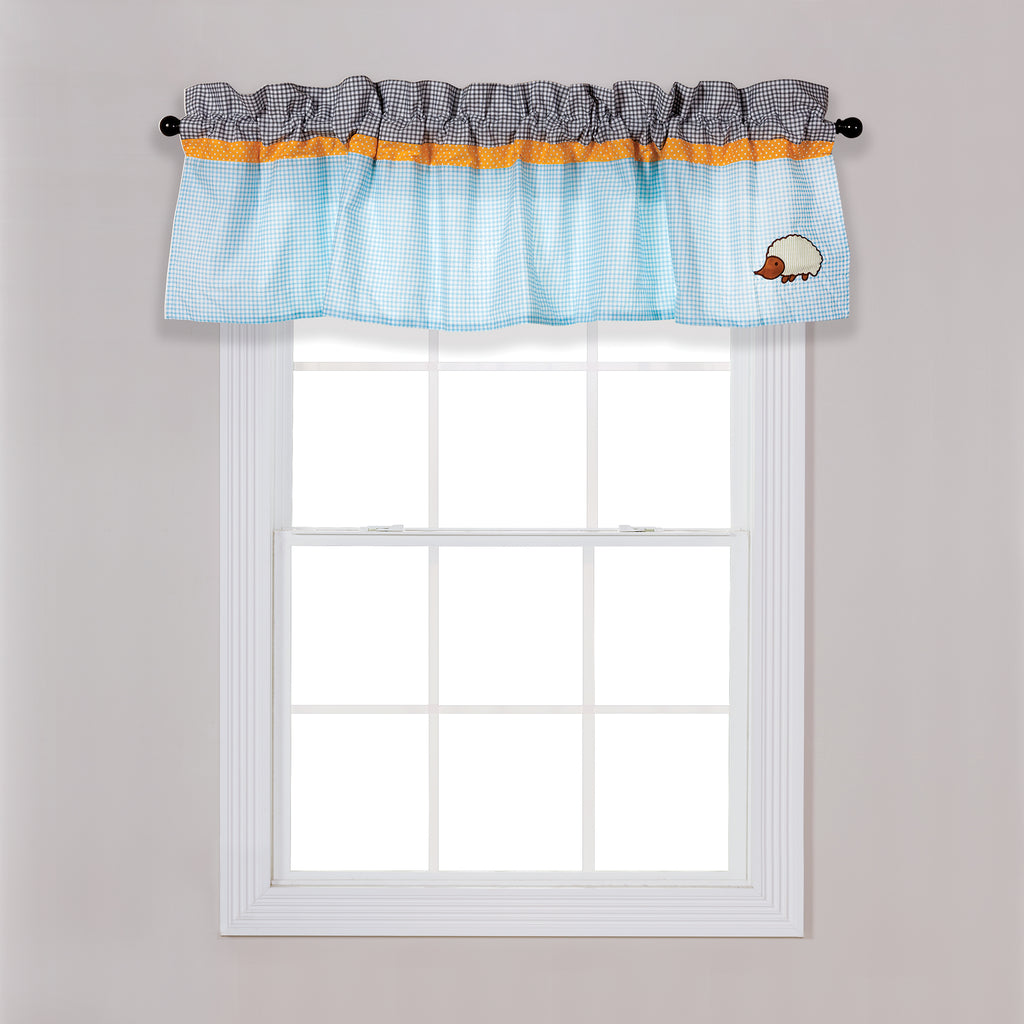 Let's Go Camping Window Valance Trend Lab, LLC