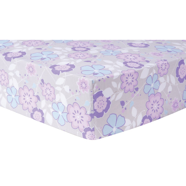 Grace Floral Fitted Crib Sheet Trend Lab Llc