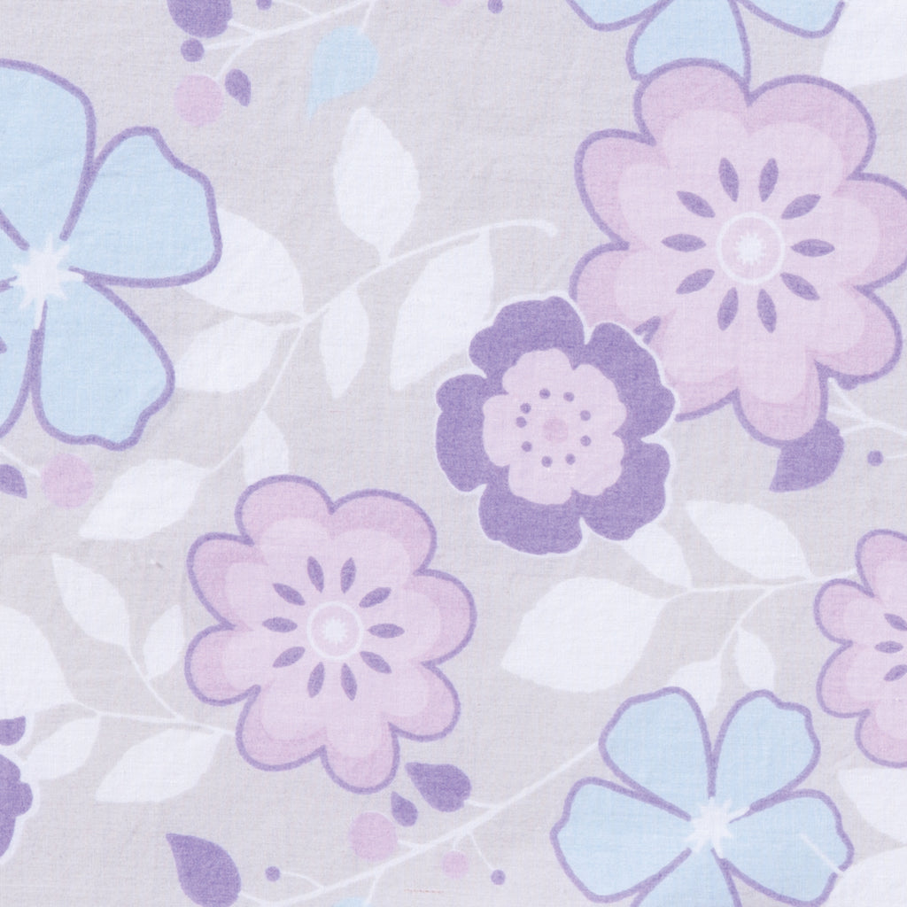 Grace Floral Fitted Crib Sheet100246$17.99Trend Lab