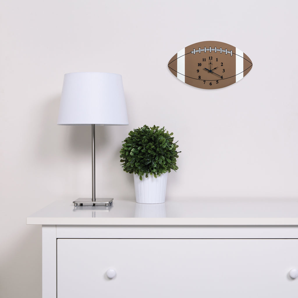 Sports-Football Wall Clock100329$21.99Trend Lab