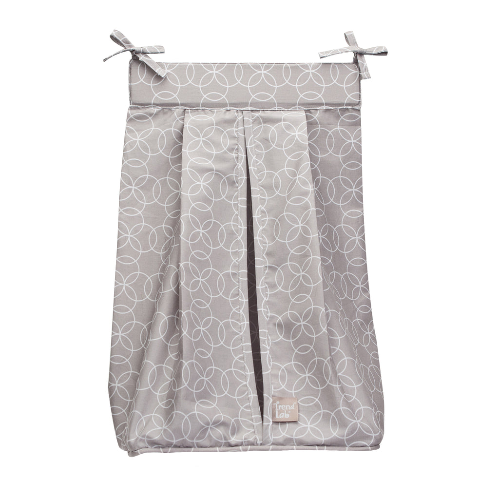 Circles Gray Diaper Stacker100471$19.99Trend Lab