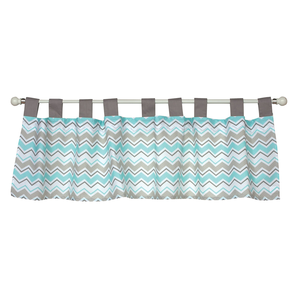 Seashore Waves Window Valance Trend Lab, LLC