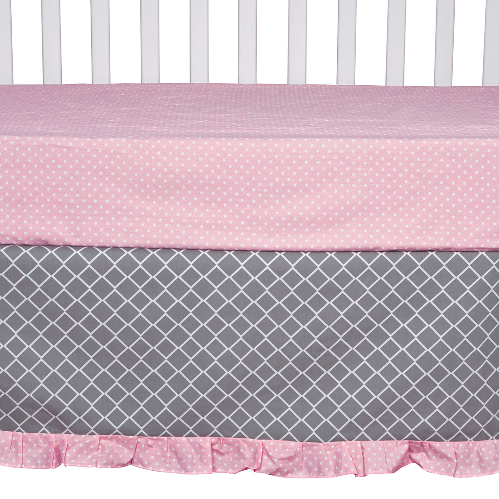 Cotton Candy Chevron 3 Piece Crib Bedding Set101020$79.99Trend Lab