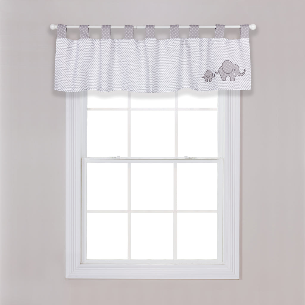 Safari Chevron Window Valance Trend Lab, LLC