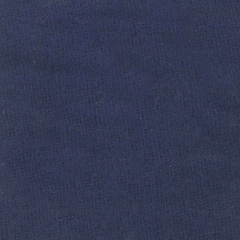 Navy Blue Deluxe Flannel Fitted Crib Sheet