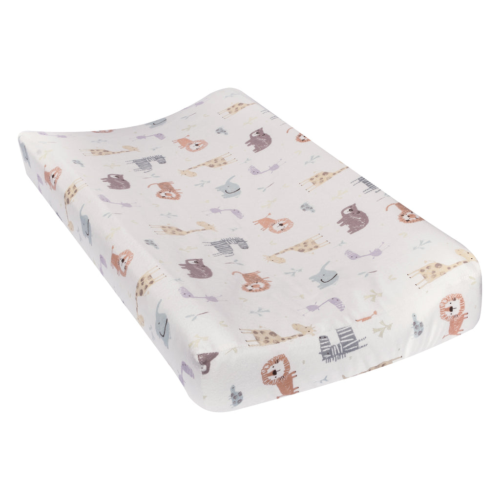 Crayon Jungle Flannel Changing Pad Cover Trend Lab, LLC