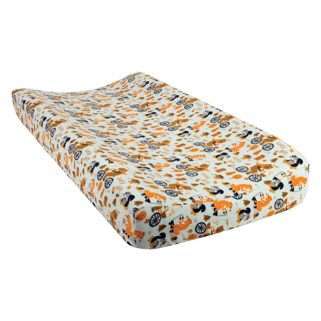 Let's Go Flannel Changing Pad Cover Trend Lab, LLC