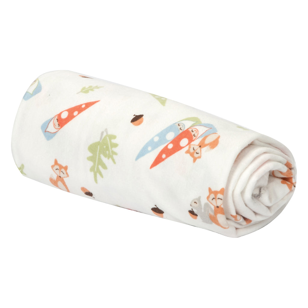 Forest Gnomes Flannel Swaddle Blanket Trend Lab, LLC