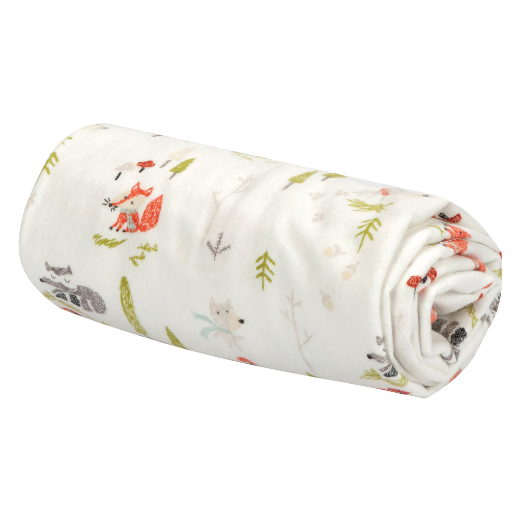 Winter Woods Flannel Swaddle Blanket Trend Lab, LLC