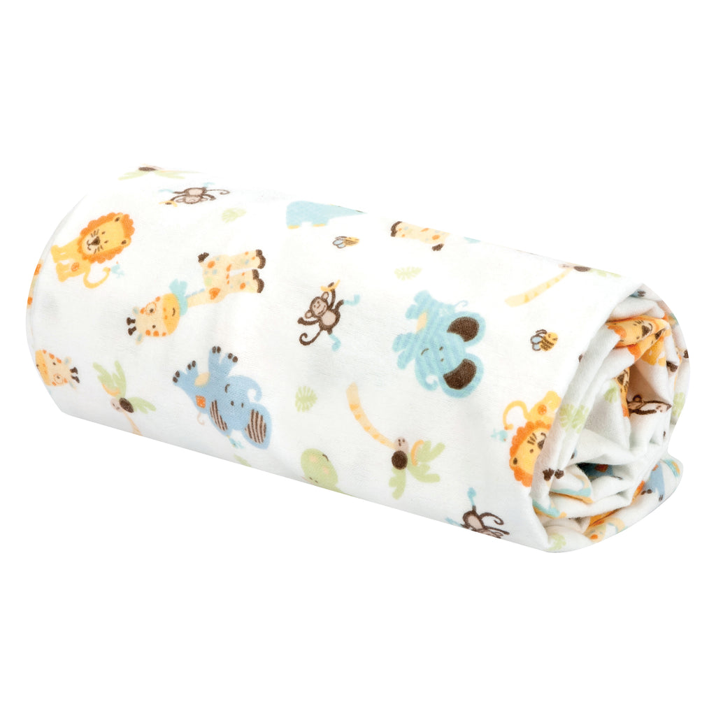 Jungle Friends Flannel Swaddle Blanket101533$12.99Trend Lab
