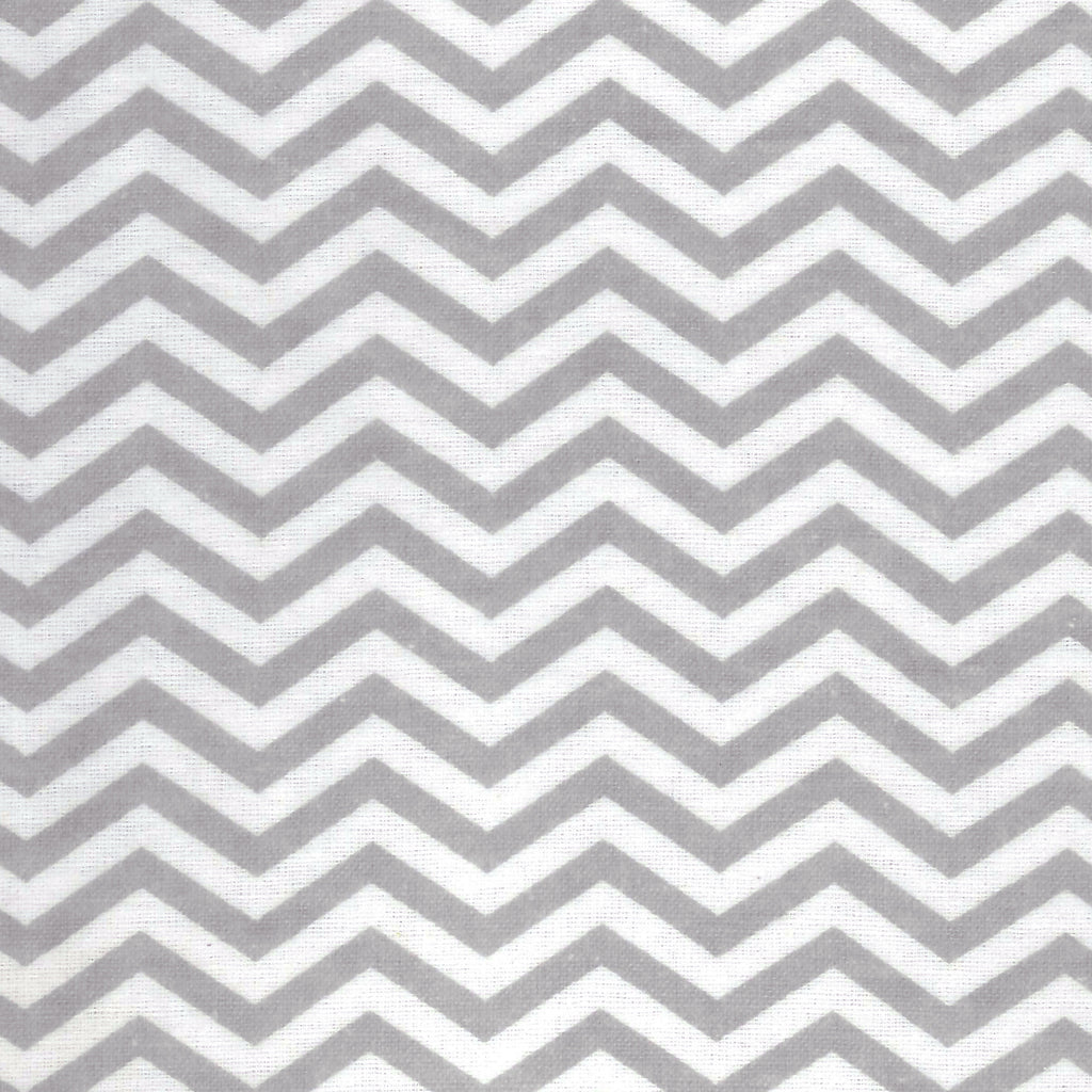 Gray Chevron Flannel Changing Pad Cover Trend Lab, LLC
