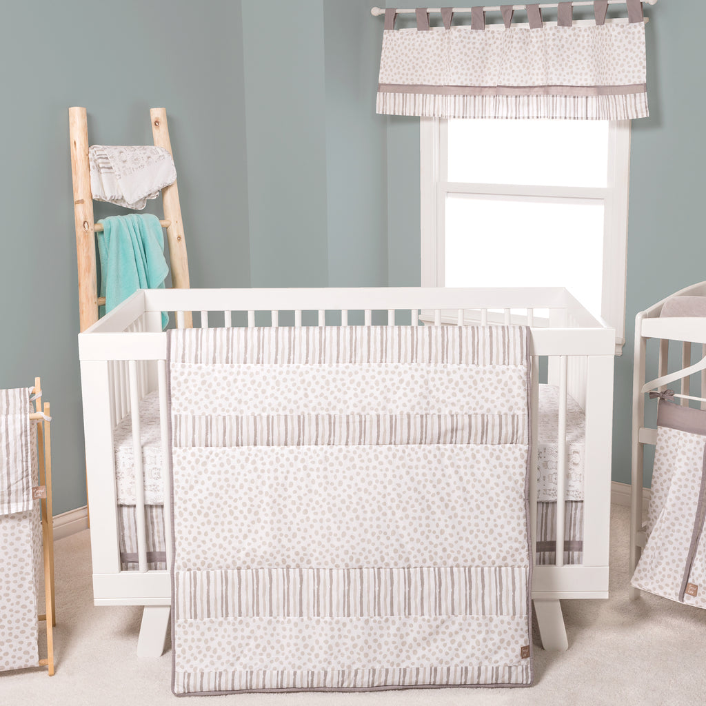 Sydney 3 Piece Crib Bedding Set Trend Lab, LLC