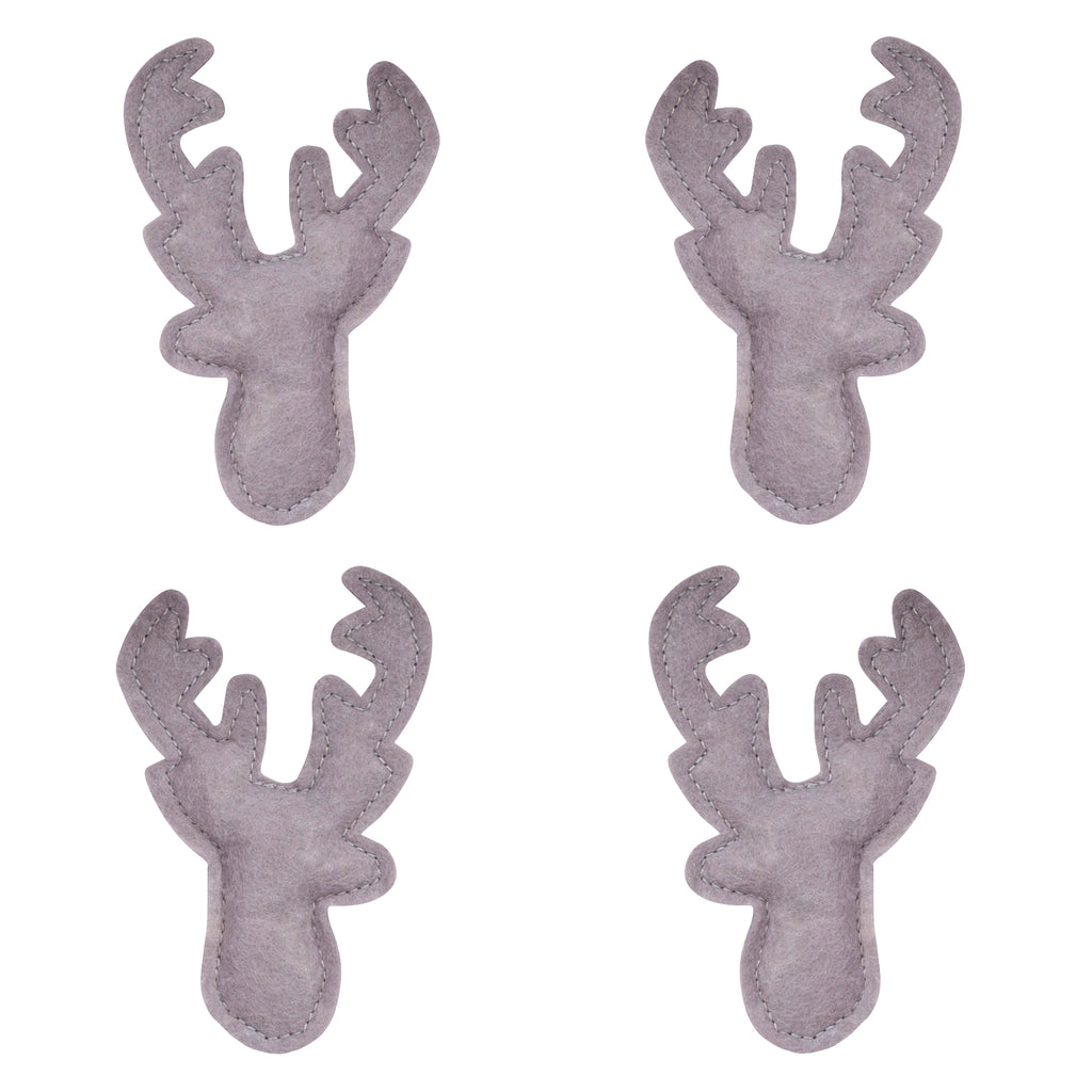 Stag Head Musical Crib Mobile