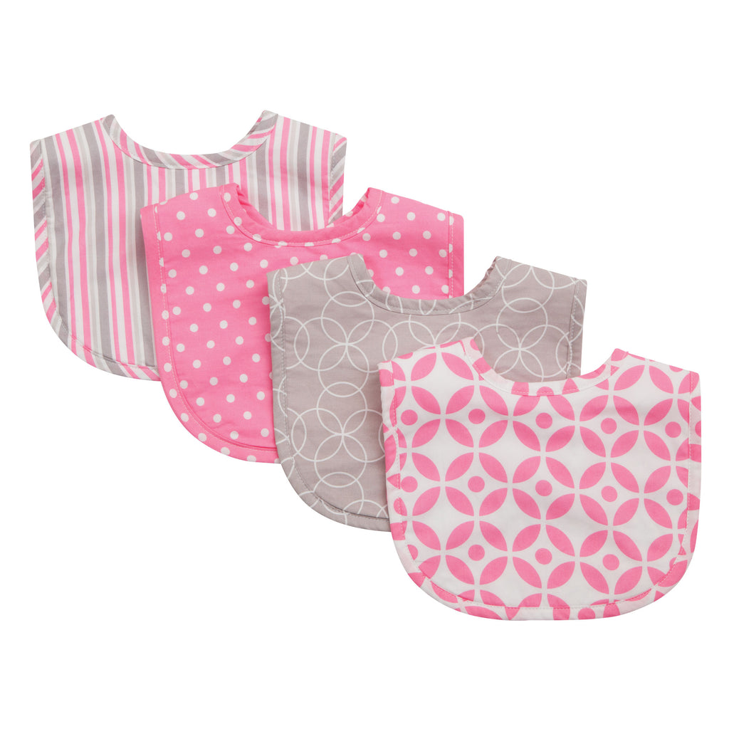 Lily 4 Pack Bib Set Trend Lab, LLC