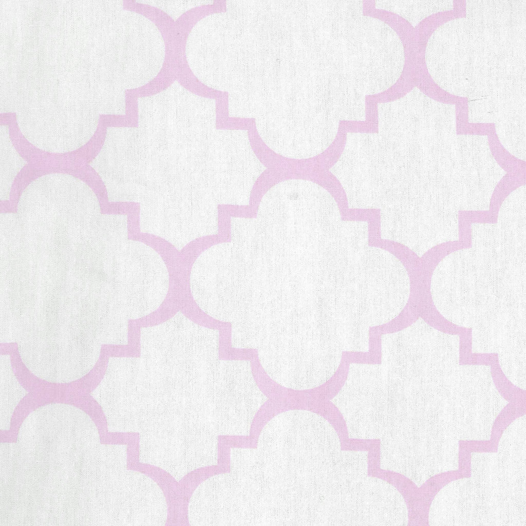 Orchid Bloom Quatrefoil Changing Pad Cover Trend Lab, LLC