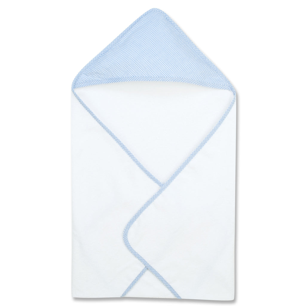 Gingham Seersucker Blue Hooded Towel101889$14.99Trend Lab