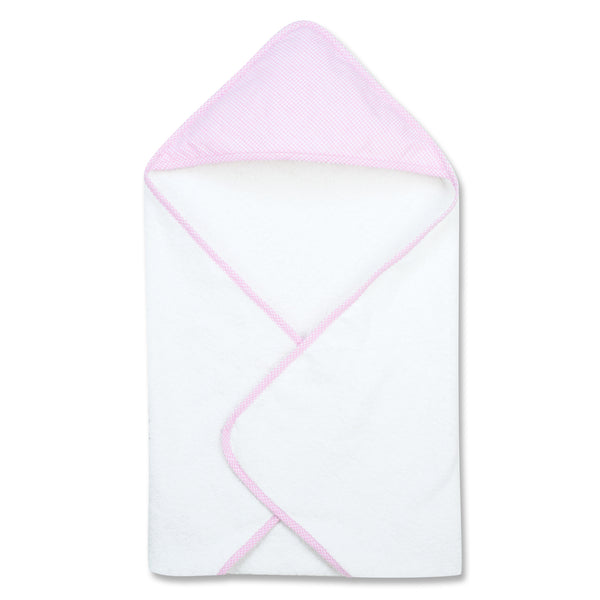 Gingham Seersucker Pink Hooded Towel Trend Lab Llc