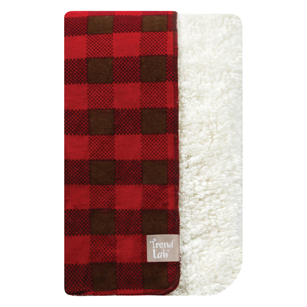 Northwoods Faux Shearling Receiving Blanket102218$19.99Trend Lab