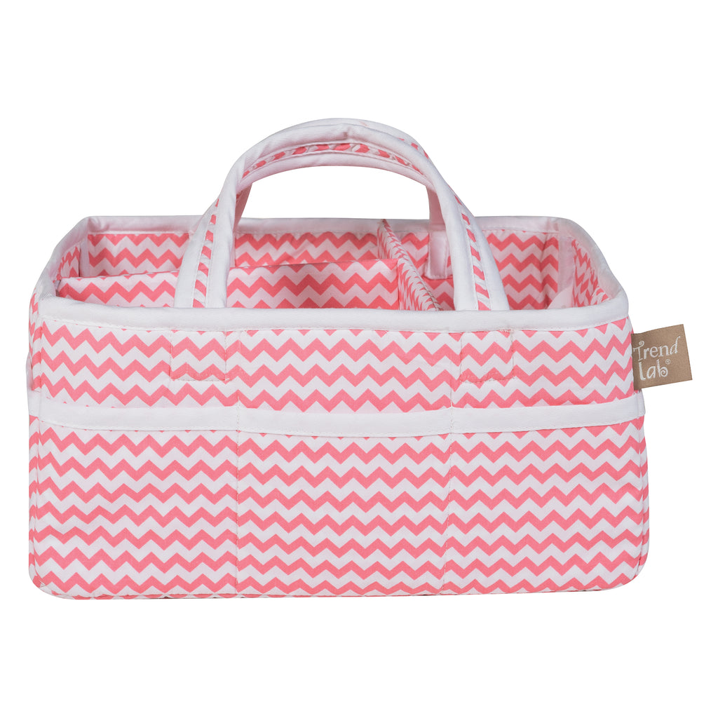 Coral Chevron Storage Caddy102253$24.99Trend Lab