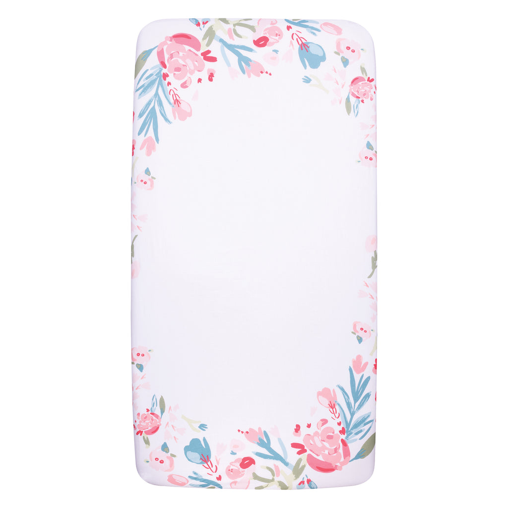 My Tiny Moments™ Painterly Floral Photo Op Fitted Crib Sheet102353$17.99Trend Lab