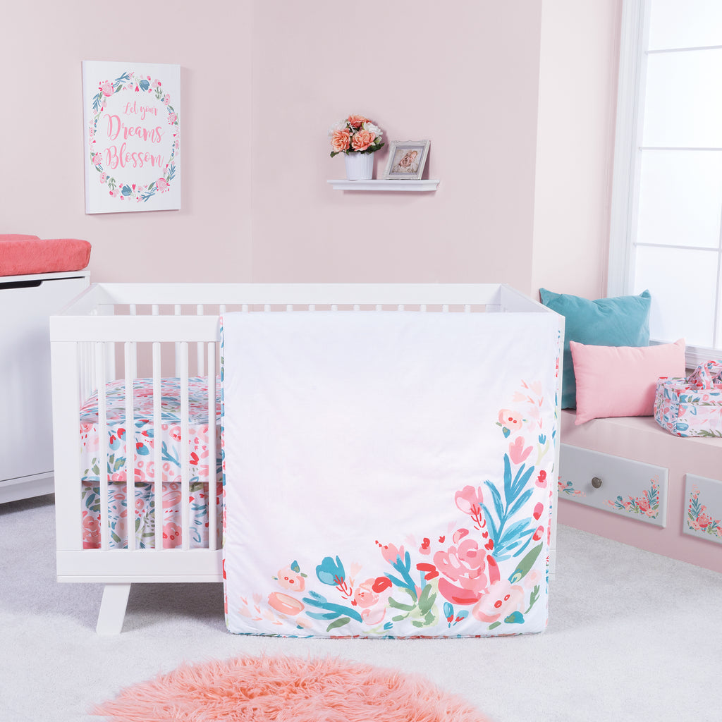 Painterly Floral 3 Piece Crib Bedding Set102354$79.99Trend Lab